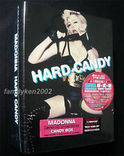 USA Limited Deluxe CD Boxset w/BonusTrks SEALED! Madonna Hard Candy rebel heart