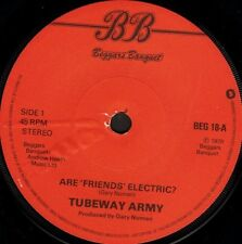 "TUBEWAY ARMY are friends electric/we are so fragile BEG 18 uk 1979 7"" WS EX/"
