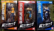 One Piece Styling Valiant Material Figure Law, Captain Kid, Drake, full set
