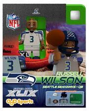 Russell Wilson OYO NFL 2015 NFC CHAMPS SUPER BOWL XLIX 49 SEATTLE SEAHAWKS NEW