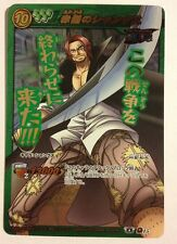 One Piece Miracle Battle Carddass OP04 Omega Rare 15 Shanks Red-Haired Pirates