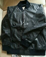 LEVIS MENS LEATHER JACKET NEW! SPLENDIDA Morbido leather;:@&$_@ COOL and€÷&@£ solo