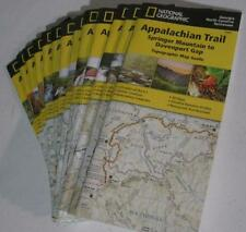 Appalachian Trail Guides Topo Maps National Geographic Complete Trail Map Set