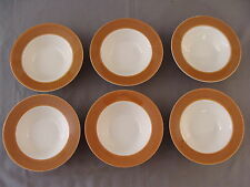 Six Morocco Atomic Dessert Bowls, Made in USA