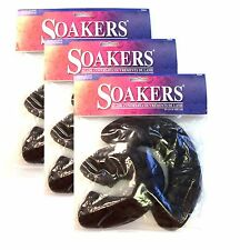 3 New DR 2044 Soakers ice skate blade guards skates adult skating covers Dk brwn