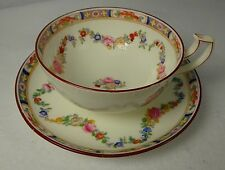 "MINTON china MINTON ROSE A4807 Cup & Saucer Set (Wreath) 2"" x 4"" diameter"
