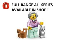 Lego minifigures grandma series 11 (71002) new factory sealed