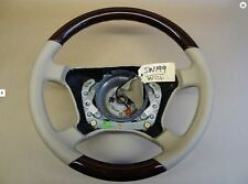 Genuine Mercedes Wood & Leather Steering Wheel - C Class E Class S Class CLK ML