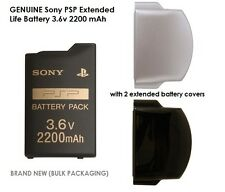 Genuine Sony PSP Extended Life Battery Kit 3.6v 2200mAh (Bulk Packaging)