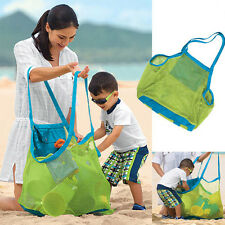 Large Sand Away Mesh Beach Bag Pouch Box Portable Carrying Toys Beach Ball  XL