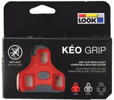 LOOK KEO GRIP Road Pedal Cleats 4.5° Red Fits Classic, 2 Max Blade & BL. Carbon