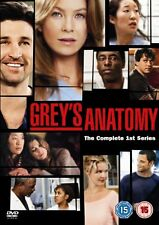 Grey's Anatomy Season 1 (DVD, 2006, Box Set) FREE SHIPPING