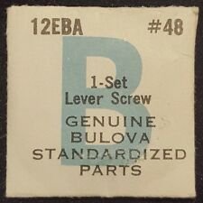 Bulova Caliber 12EBA Part Number 48 (Ebauche Number 5443) (Setting Lever Screw)