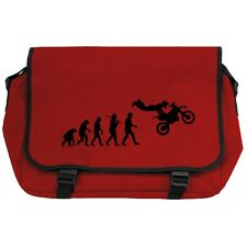 Evolution of Motocross Red Messenger Bag xgames freestyle mx ktm pit bike NEW