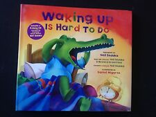 Signed Neil Sedaka Waking Up Is Hard To Do children's book and CD set!