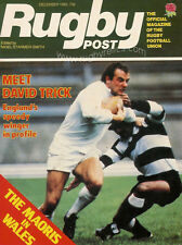 RUGBY POST Dec 1982 ENGLAND MAGAZINE