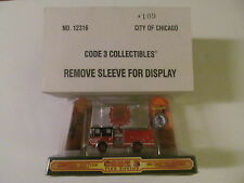 Code 3 - Chicago Fire Department - Luverne Pumper Truck Engine #109 - Scale 1/64