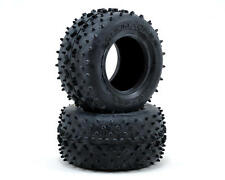 """Schumacher Racing U6707 """"Vee 2"""" 2.2 1/10 Truck Rear Tires (2) (Yellow)"""