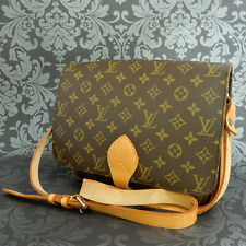 Rise-on LOUIS VUITTON Cartouchiere MM Shoulder Bag Purse Sac porte epaule #6 Ft
