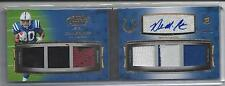 DELONE CARTER 2011 TOPPS PRIME LEVEL I (1) 6 PIECE PATCH AUTO BOOK RC #D 10/10