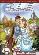 Cinderella / King Thrushbeard - Fairy Tales of the Brothers Grimm (2005, DVD)