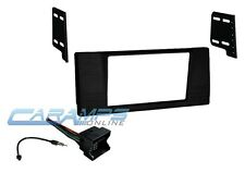 E53 DOUBLE 2 DIN CAR STEREO RADIO MOUNTING KIT DASH INSTALL TRIM WIRING HARNESS