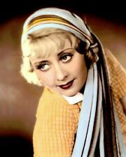 """JOAN BLONDELL b HOLLYWOOD ACTRESS & MOVIE STAR 8x10"""" HAND COLOR TINTED PHOTO"""