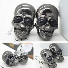 Punk Women's Skull Stud Earring Chic Girl's Skull Earring Ear Stud Gift TSUS