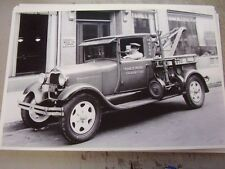 1928 1929 FORD AA TOW TRUCK 12 X 18 LARGE PICTURE   PHOTO