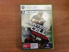X-BOX 360 Game - Tom Clancy's Splinter Cell Conviction - with instructions - VGC