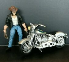 "Marvel Universe Wolverine & Motorcycle Toys R Us Exc 3.75"" Back Road Brawl"