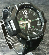 CASIO G SHOCK GA-1100-1A3ER GRAVITYMASTER AVIATION COMPASS TERMO BRAND NEW