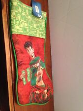 NEW ARTHUR CHRISTMAS HOLIDAY CHRISTMAS STOCKING ARTHUR WITH STEVE CLAUS CLAUSE