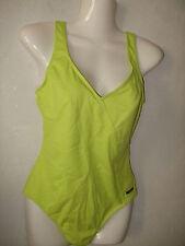 Solar Badeanzug mit Softschalen Neon Gelb Glitzer Größe 38 B  Neu