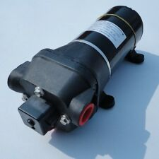 Brand New High Pressure Water Pump 12 V DC 40 PSI  Fittings Replace Flojet