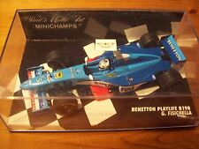 1/43 BENETTON 1998 PLAYLIFE B198 GIANCARLO FISICHELLA