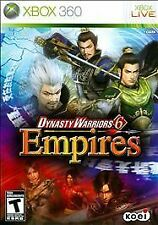 XBOX 360 Dynasty Warriors 6: Empires *MINT*COMPLETE*