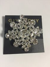 $68 Givenchy® Cubic Zirconia Cluster Pin