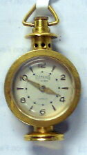Actina 17J Very Rare Vintage Pendant Womans Watch In a Lanter Shape, GP Case.