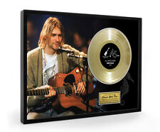 Nirvana All Apologies Framed Gold Disc Display ( Large A3 Size )