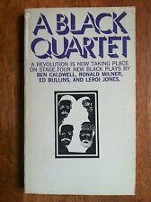 A BLACK QUARTET Ben Caldwell Ronald Milner Ed Bullins!