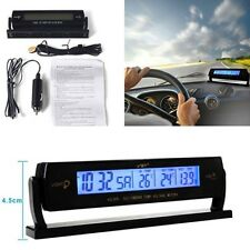 Auto Car Multifunction Digital Voltage Clock Temperature LCD Meter Monitor Alarm