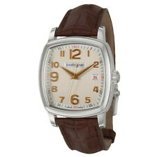 Jean Richard TV Screen Men's 39mm Automatic Date Watch 60116-11-10A-AAED