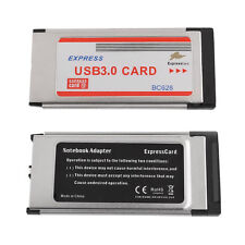 NEW Express Card ExpressCard 34mm to Dual 2 Ports USB 3.0 Adapter Card BC628