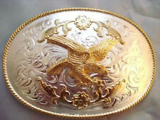 Giant Size Eagle Belt Buckle Texas Western Rodeo Biker