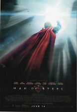"Superman  Man Of Steel     Glossy Picture  "" Mini Film Poster ""  (P106)"