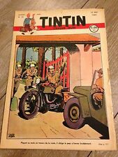 journal tintin Belge 19 (1949) couverture Le Rallic RARE