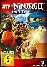 LEGO NINJAGO - SEASON 6 part 2   - DVD - PAL  Region 2 - New