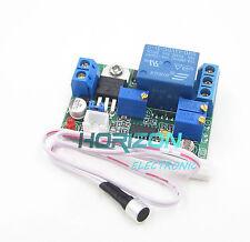 5V 12V 24V DC Sound Sensor / Light Control Relay Switch Module Adjustable Delay