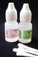 NICKEL Spot Test Testing Solutions Kit + Instructions